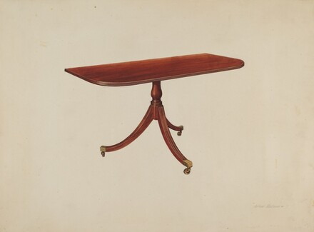 Duncan Phyfe Table