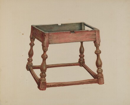 Tavern Table (Top Missing)