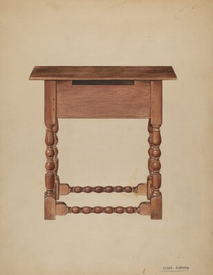 Tavern Table or Refectory Table