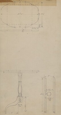 Drawing of Table