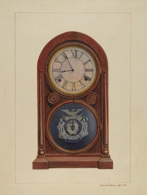 Mantel Clock or Shelf Clock