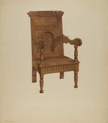 Wainscot Armchair