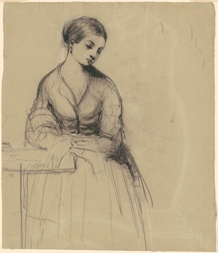 Young Woman, Florence [recto]