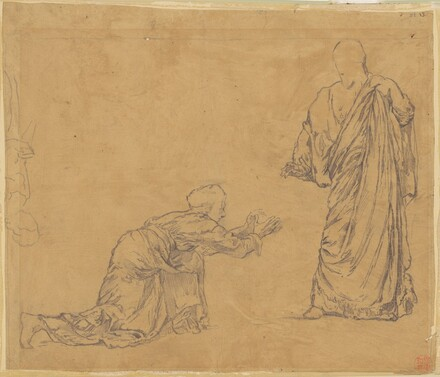 Study for Christ Appearing to Mary