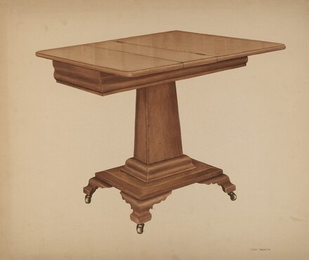 Table (pedestal)