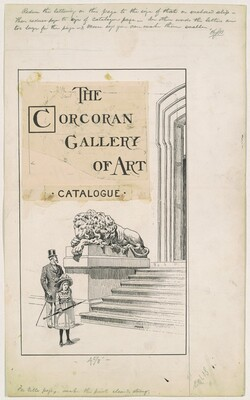 Title Page, for the 1892 Corcoran Gallery General Catalogue