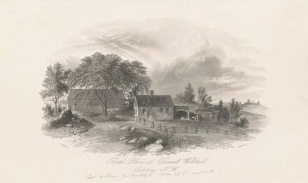Birth Place of Daniel Webster, Salisbury, New Hampshire