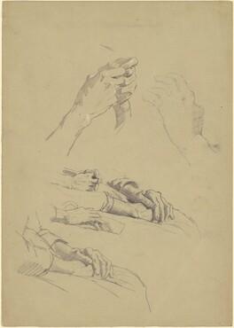 Studies of Hands [recto]