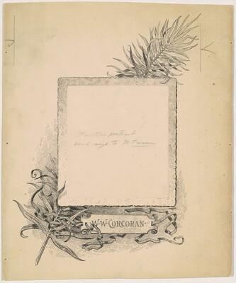 Frontispiece, Portrait of W. W. Corcoran