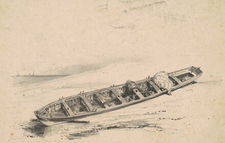A Beached Longboat
