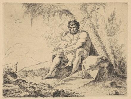 John the Baptist and the Lamb