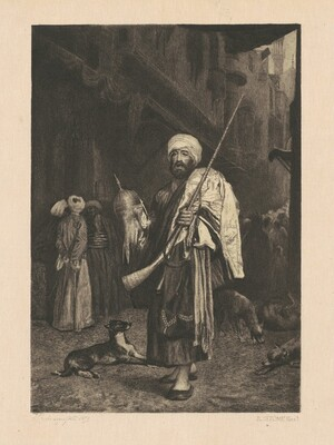 The Old Clothes Dealer, Cairo