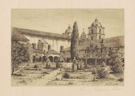 Garden, Mission Santa Barbara