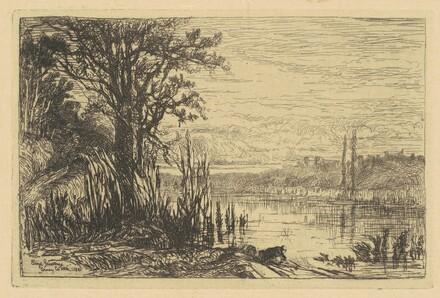 The Pond at Cernay-la-Ville
