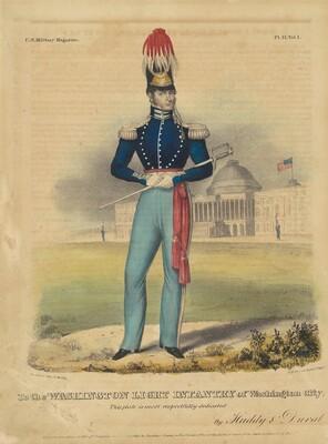 To the Washington Light Infantry of Washington City
