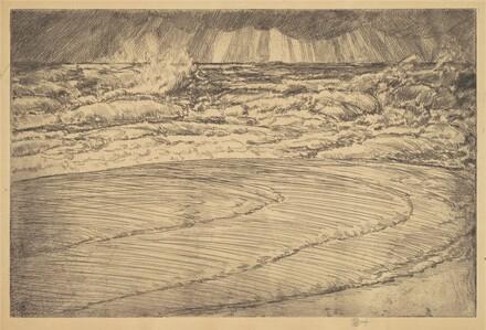 Heavy Surf, High Tide, Easthampton