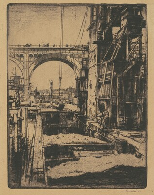 Viaduct, Coal Pockets