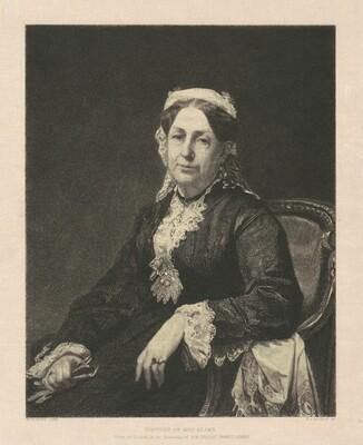 Portrait of Mrs. Adams