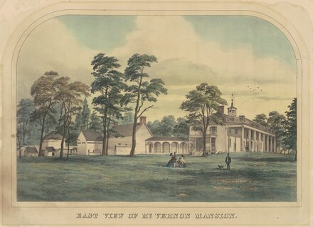 East View of Mount Vernon Mansion