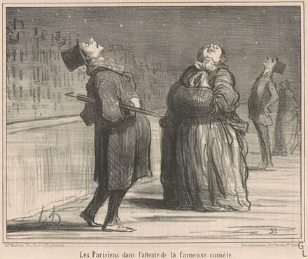 Les Parisiens dans l'attente de le ...