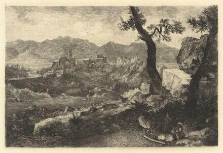 A View Near Rome