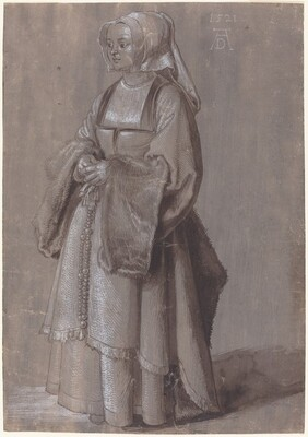 Young Woman in Netherlandish Dress