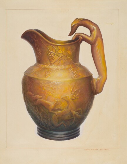Pottery from the Index of American Design