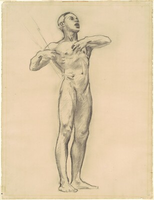 Study of Orpheus for Classic and Romantic Art