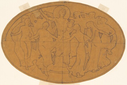 Study for Apollo and the Muses