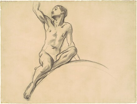 Study for Figure above Music
