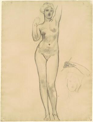 Studies of Aphrodite for Aphrodite and Eros