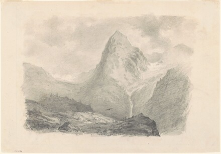 An Alpine Scene [recto]
