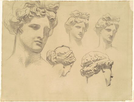 Studies for Apollo and the Muses
