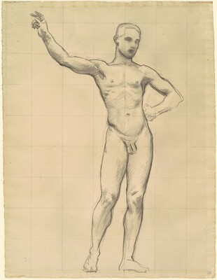 Study of Apollo for Apollo and the Muses