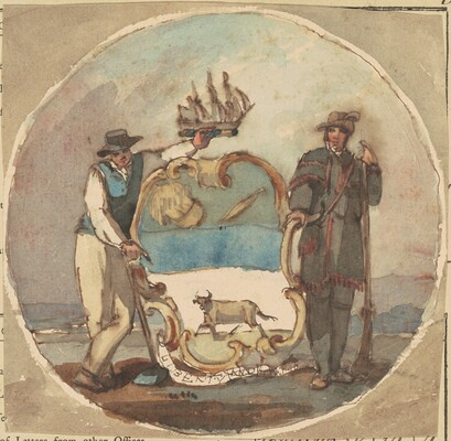 Study for The Great Seal of the State of Delaware