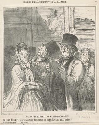 Devant le tableau de M. G. Moreau