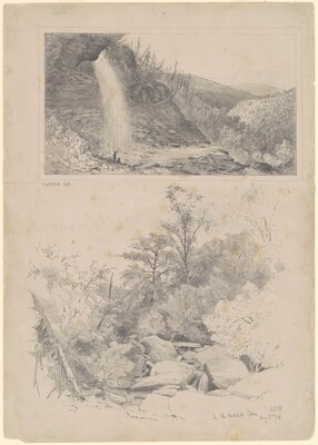 Two Studies: Kaatskill Fall and In the Kaatskill Clove