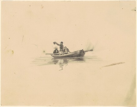 Men in a Rowboat