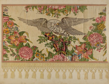Chintz Valance for Poster Bed