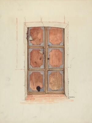 Church Door (Interior)