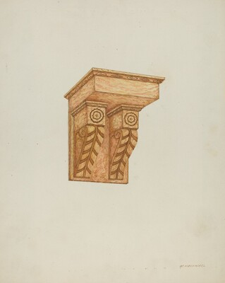 Architectural Detail (Wall Brackets)