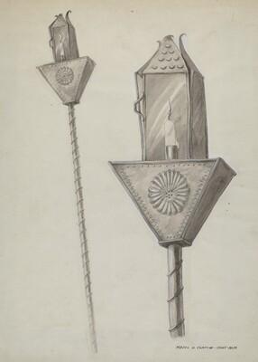 Penitente Processional Lantern