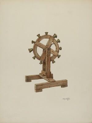 Altar Chimes on Wheel