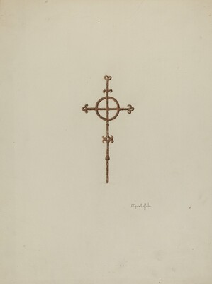 Wrought Iron Cross, Campanario