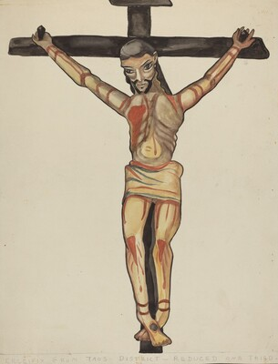 Crucifix, from Vicinity of Taos