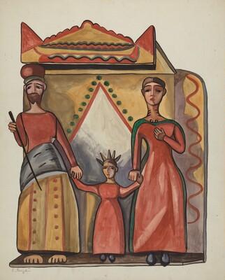 Bulto - Holy Family