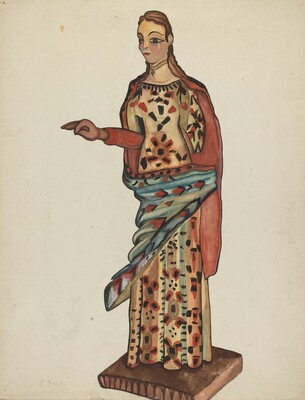 Bulto (Wooden Figure of Saint)