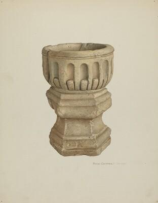 Stone Baptismal Font