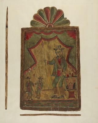 Retablo (St. Longinus)
