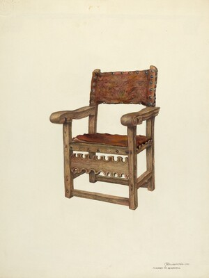Arm Chair (Ecclesiastical)